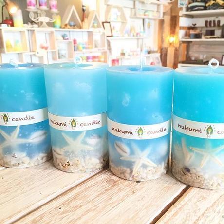 okinawa  sea shell candle