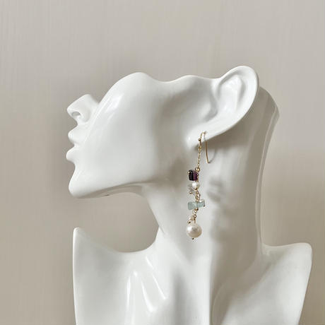 natural stone & pearl