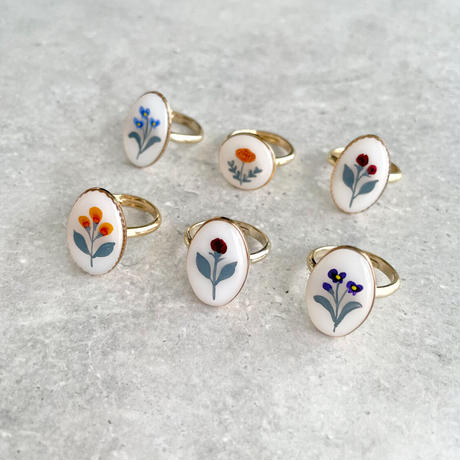 再販あり flower ring A
