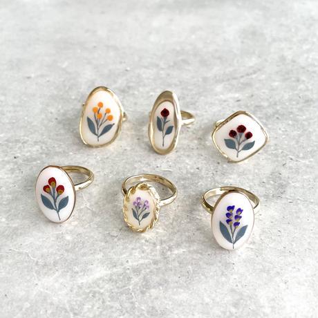 再販あり|flower ring B