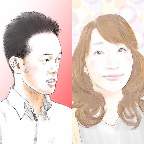 【オープン記念0円】似顔絵描きます  のコピー