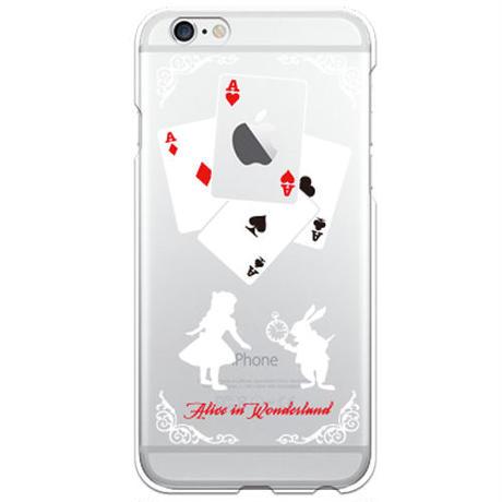 No.INFINITE Alice by maw クリア ハード ケース(側面部印刷なし) 対応5機種(iPhone機種)
