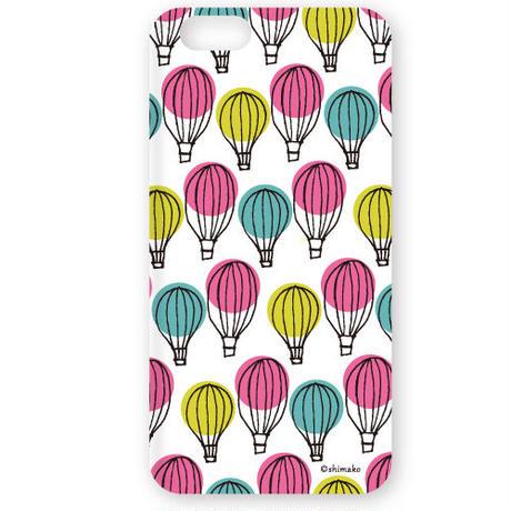 Shimako(しまこ) balloon 3D ハード ケース 対応7機種(iPhone/アンドロイド機種)