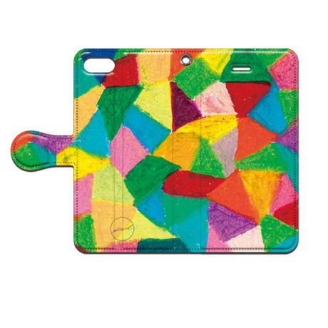 PED(ペッド) textile 日常 手帳型スマホケース 対応機種(iPhone/アンドロイド機種)