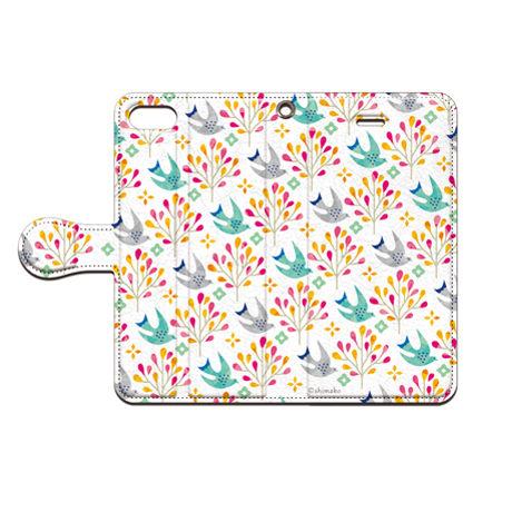 Shimako(しまこ)  bird1 手帳型スマホケース 対応機種(iPhone/アンドロイド機種)