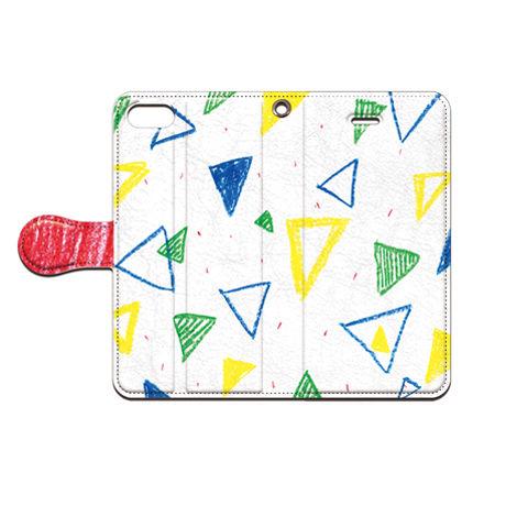 saaya (さーや)  クレパス(三角) 手帳型スマホケース 対応機種(iPhone/アンドロイド機種)
