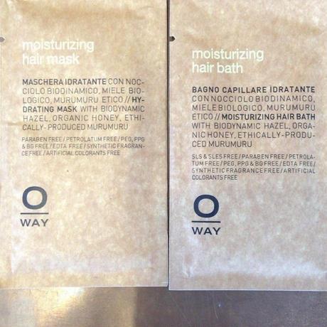 rolland O-way moisturizing モイスト ヘアバス&ヘアマスク 10ml サシェ(各1個)