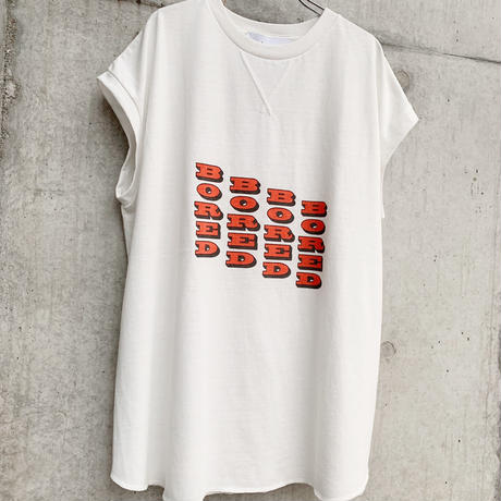 【F/CE.® 】RECYCLE COTTON BORED T
