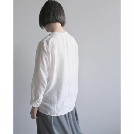 【NO CONTROL AIR】Lady's  シュリンクポリエステルブロードノーカラーシャツ