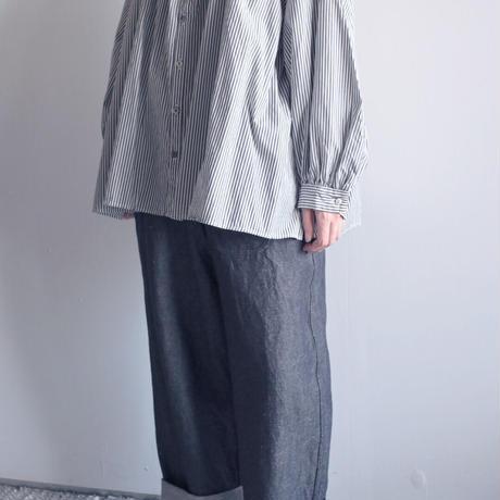 【 ゴーシュ  】リアクティブデニムワイドパンツ