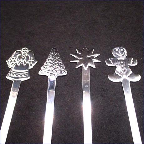 クリスマススプーン4本セット U0107