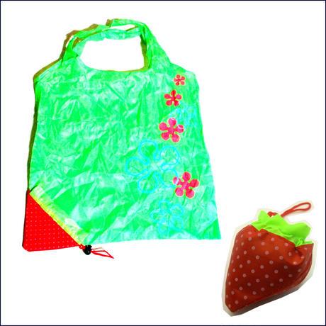 ストロベリーショッピングエコバッグ(買い物袋)U0052