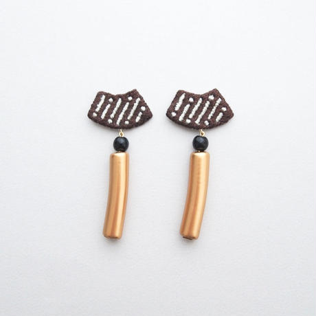 【 hot chocolate/earring 】