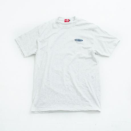 nuttyclothing / Oval Logo T-SHIRT Ash
