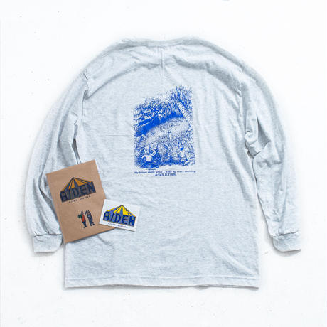 nuttyclothing × A / DEN / Agartha Long Sleeve T-shirt (ZINE+STICKER付)