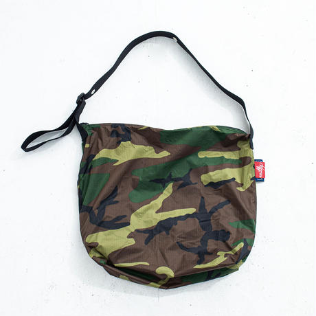 "nuttyclothing / Ripstop Nylon Shoulder bag ""Camo"""