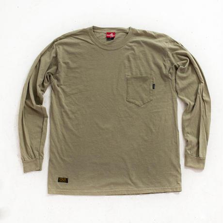 nuttyclothing / Garment die Pocket LongSleeve T-Shirt