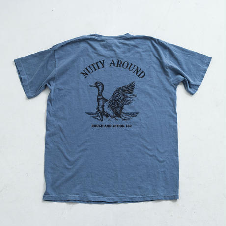 nuttyclothing  /  NUTTY AROUND T-SHIRT