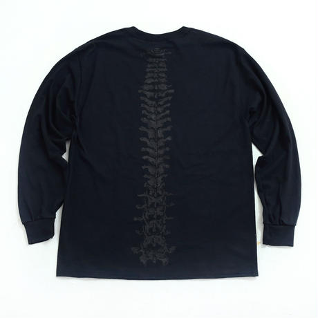 nuttyclothing / STASH BONE LONG SLEEVE T-SHIRT