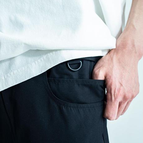nuttyclothing / 7pockets nylon dailyshorts Black