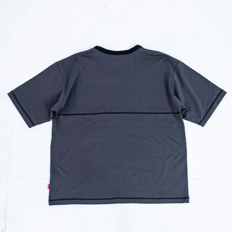 nuttyclothing / Heavy weight Back Stitch T-shirt