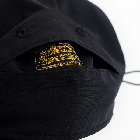 nuttyclothing / RAMBLE  CAP 60/40 Cross Black
