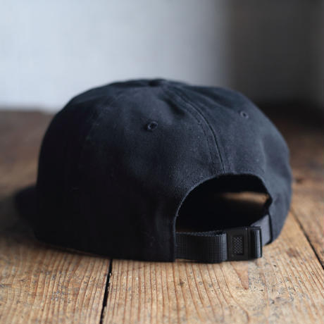 "nuttyclothing / ONELOOP 6 Panel BB CAP ""BLACK"""
