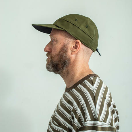 nuttyclothing / Ramble Longbill Cap Ventile Olive