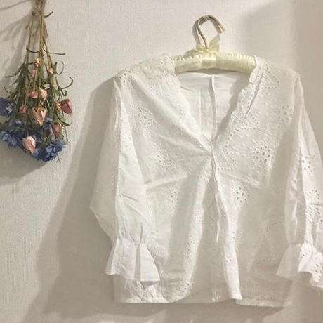 lace blouse [レースブラウス]