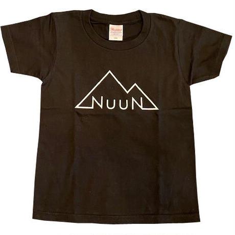 NuuN Original T-shirt BLACK ブラック