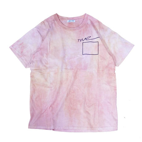 nve tie dye T-shirts (pink×yellow)