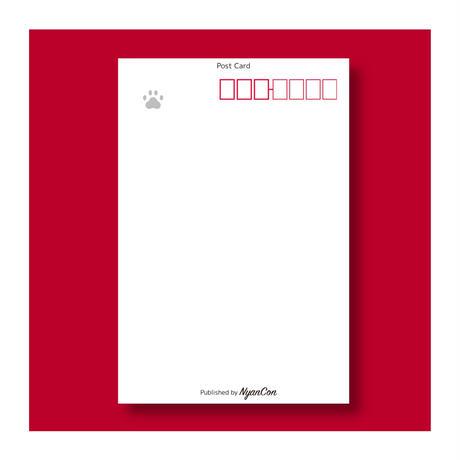SUPPORNYANS POST CARD ⑤アップル