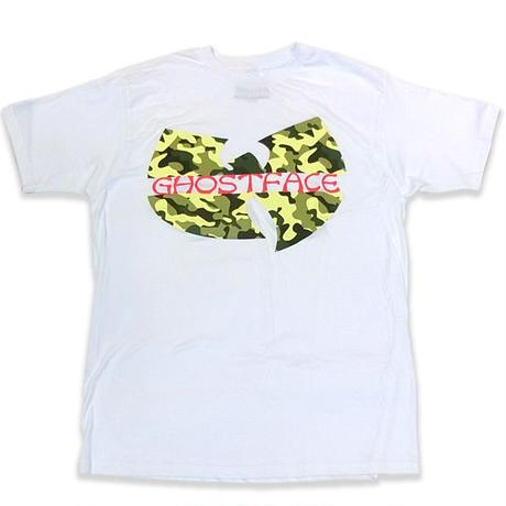 WhiteGold Tarantulaホワイトゴールドタランチュラ WU-TANGゴーストフェイスオフィシャルTeeホワイトカモ EXTRA BUTTER取り扱いのNYブランド
