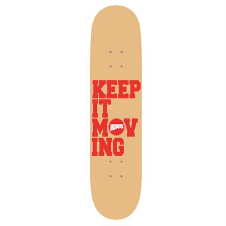 US Supreme取り扱いブランドHOPPS【ホップス】東海岸スケートシ ーンの重鎮Jahmal Williamsが放 つスケートブランド!KEEP IT MO VINGスケートボードデッキ
