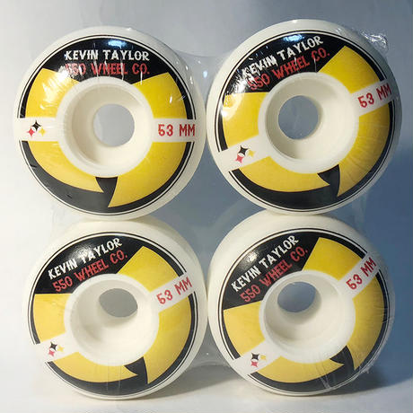 5-50WHEELS(FIVE FIFTY WHEELS)KEVIN TAYLOR STEEL SWORDS 53MM 硬度100A WU-TANG CLANウィール 550Wheels