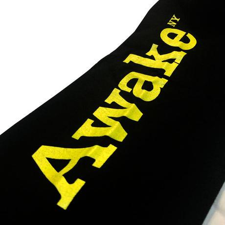 AWAKE NY アウェイク・ニューヨーク Turntable Long Sleeve Tee ロンT ブラック