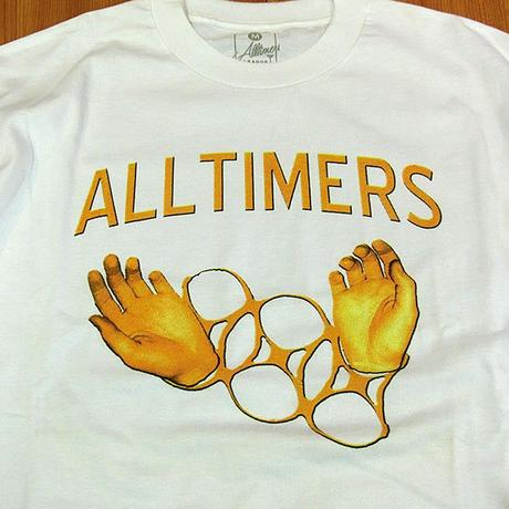 ALLTIMERS CUFFS Teeホワイト BronzeやDIMEなどと並びストリートスケートシーンを牽引するアンダーグラウンドブランド!