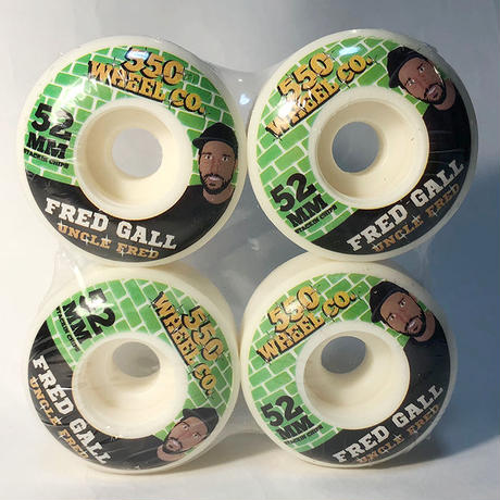 5-50WHEELS(FIVE FIFTY WHEELS)FRED GALL SNACKS 52MM 硬度100Aウィール 550Wheels