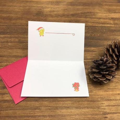 じーさんクリスマスカード「Merry  Christmas」