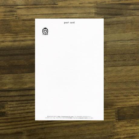 ポストカードじーさんシリーズ 「じーさんのクリスマスツリー」