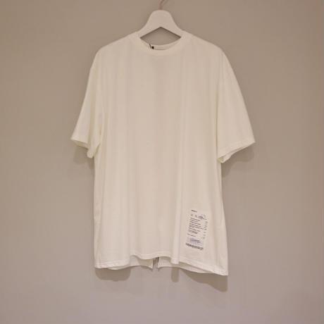 tranoi バックZIP Tシャツ ( ホワイト/ベージュ/ブラック )