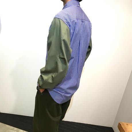 HBNS モッズスリーブシャツ ( ブルー )