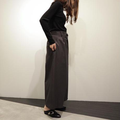 B-chad ベルト付きワイドパンツ(gray)