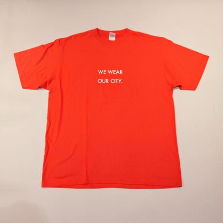 【アウトレット】We wear our city T レッド