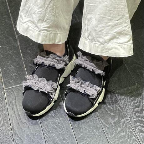 reharsall  フリルスニーカー ( grey)