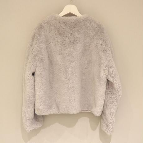 tranoi フェイクファーブルゾン (gray)