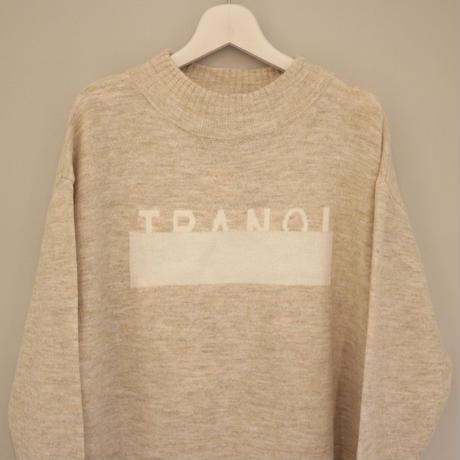 tranoi ニットワンピース (gray, beige)