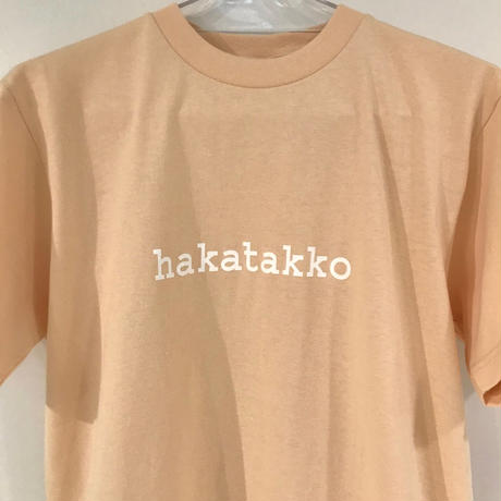 ハカタッコTシャツ チャコール・ベージュ