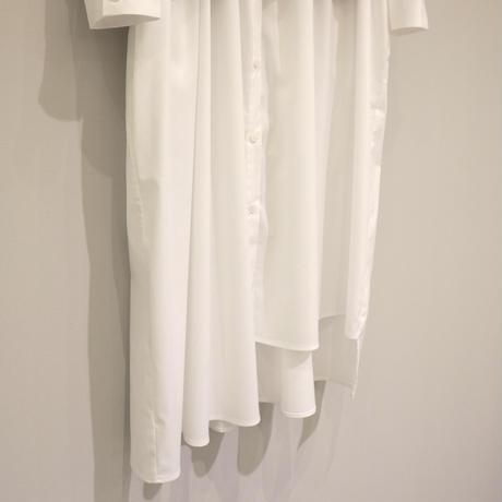 tranoi レイヤードワンピース ( ホワイト/ブラック )