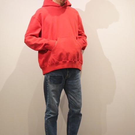 HBNS スウェットフーディ(red)
